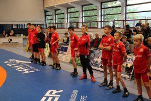 KSV Haslach Jugendteam bei der Aufstellung