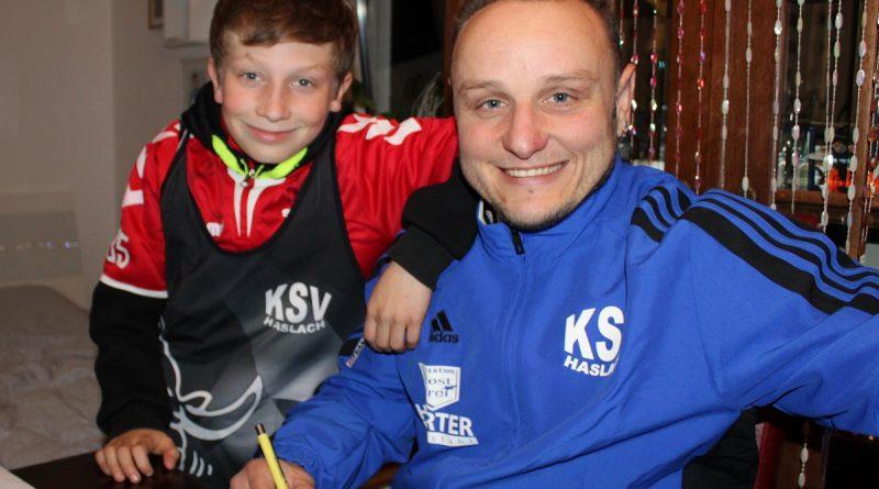 Vojtech Benedek wechselt zurück zum KSV Haslach.